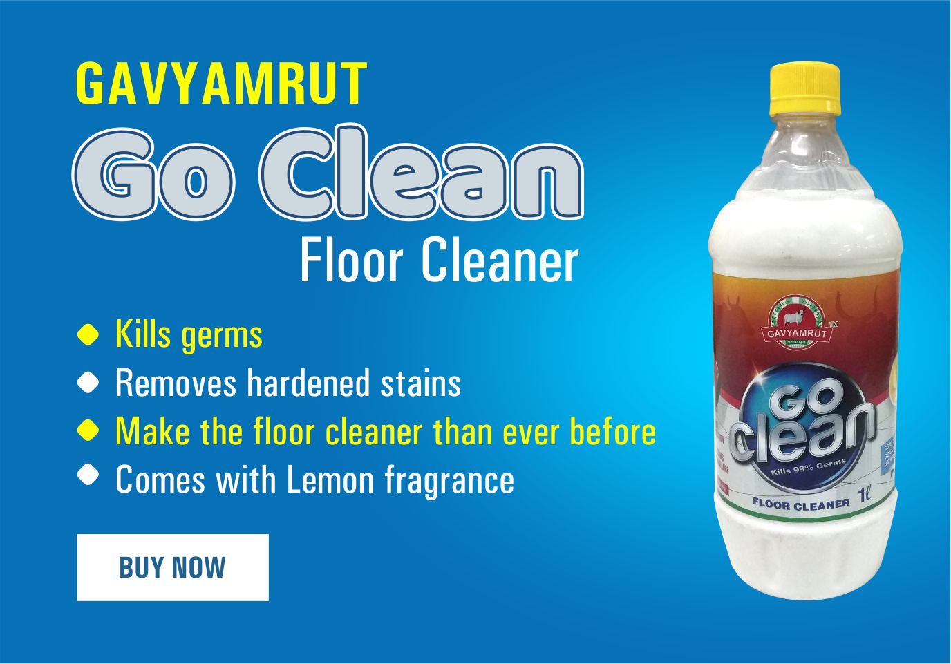 Gavyamrut Go Clean Floor Cleaner